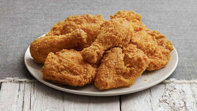 KFC extra crispy chicken