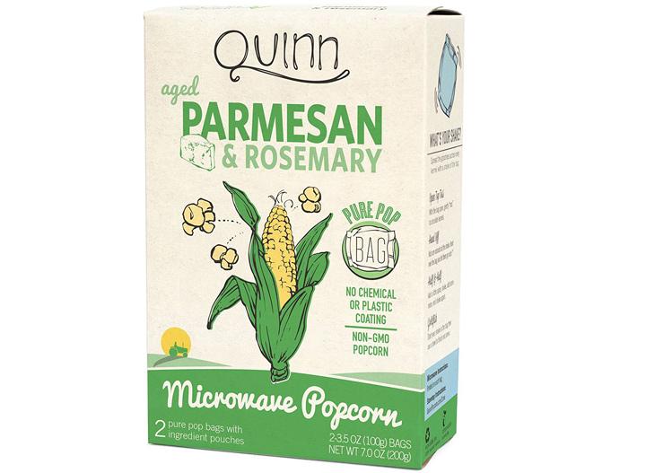 Quinn parmesan rosemary popcorn