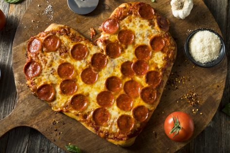Your Valentine's Day in Health: Heart-Shaped Pizzas & Free Yogurt