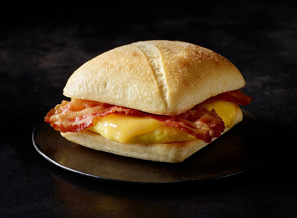 Starbucks bacon gouda sandwich