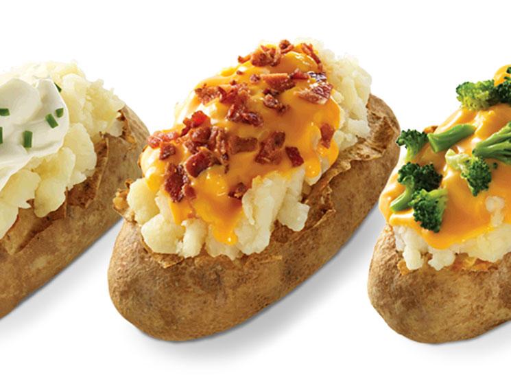 Wendys baked potato