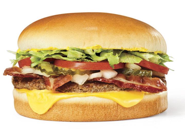 Whataburger bacon cheese burger