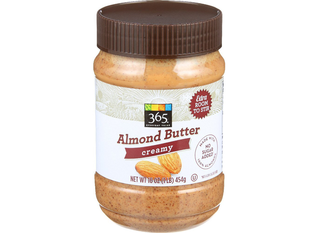 365 Everyday Value creamy almond butter