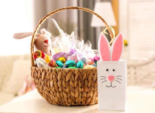 Easter candy basket