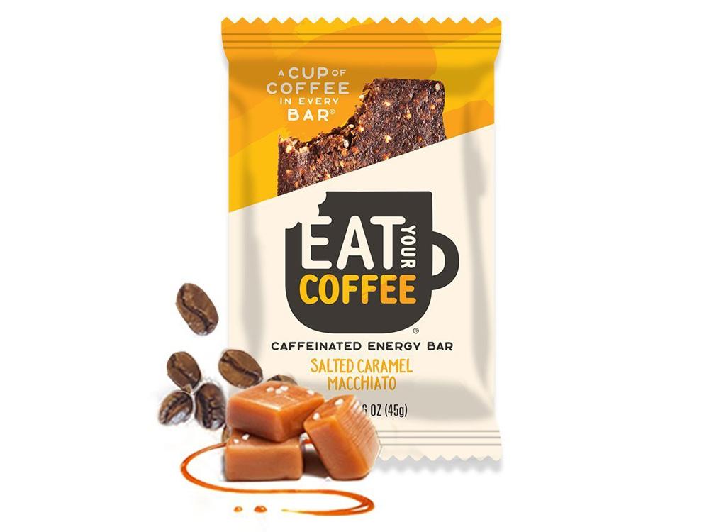 Eat Your Coffee salted caramel macchiato energy bar