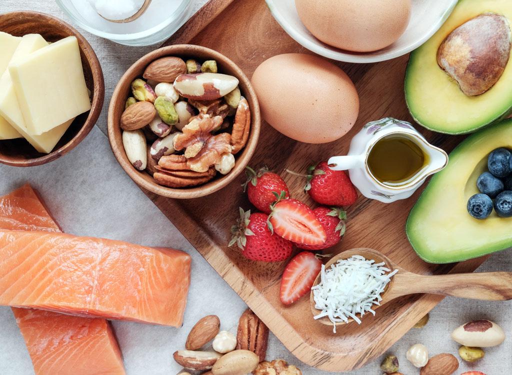 healthy fats keto