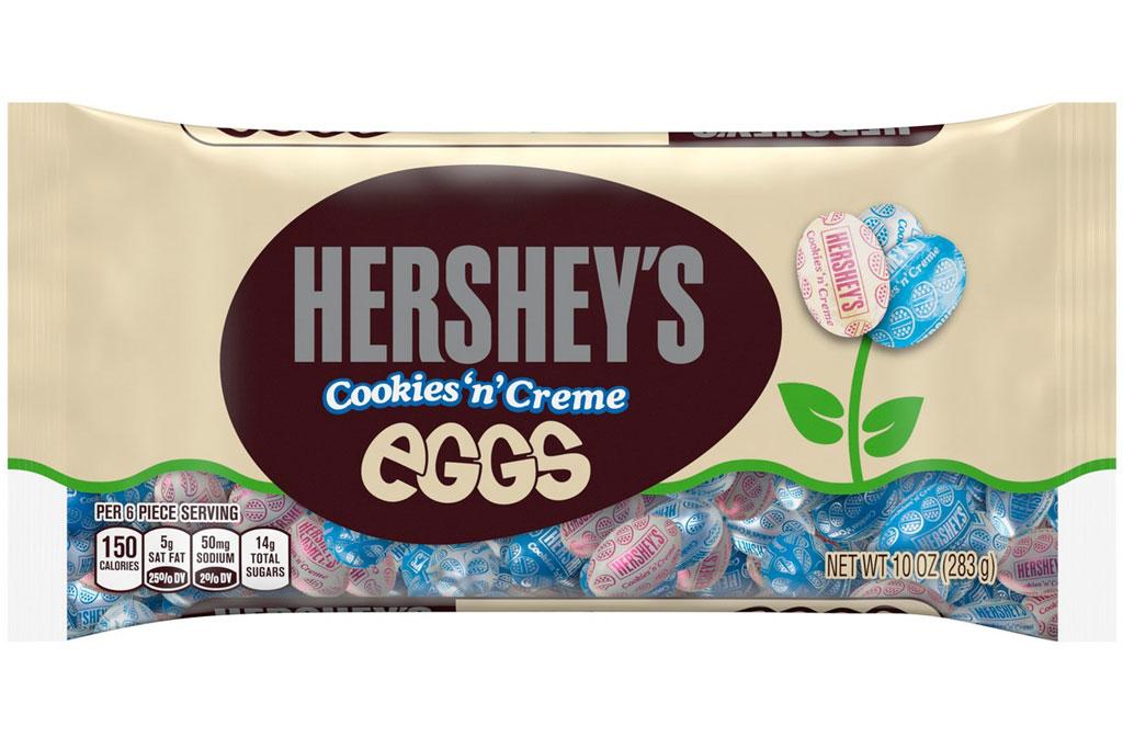 Hersheys cookies n creme eggs