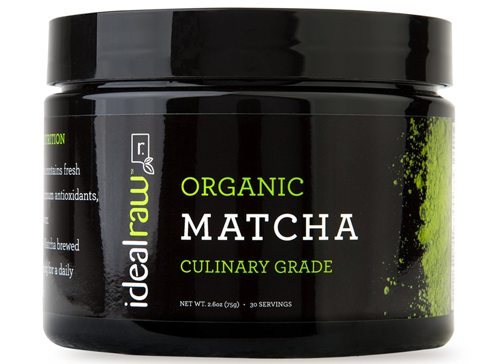 Ideal Raw organic matcha powder