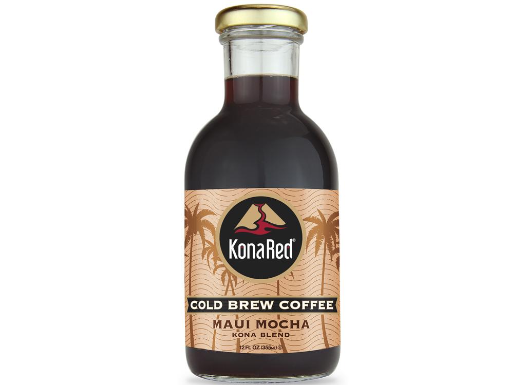 KonaRed cold brew coffee maui mocha