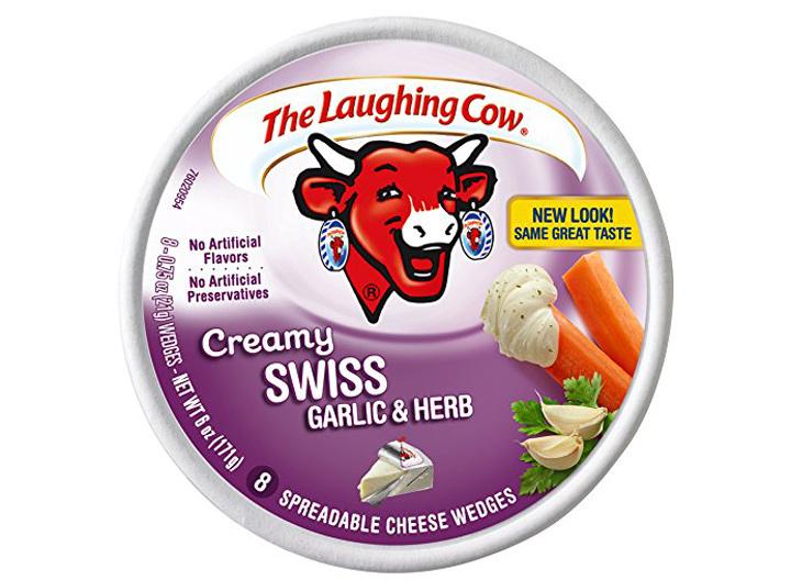 Laughing Cow swiss garlic herb