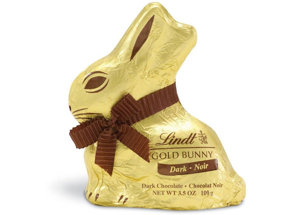 Lindt dark gold bunny