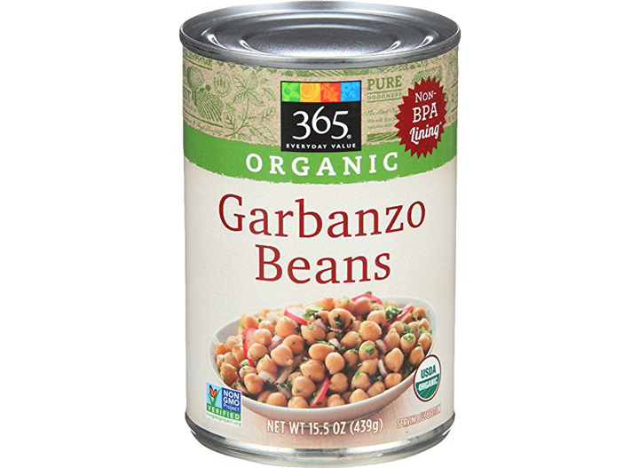 365 Everyday Value canned chickpeas