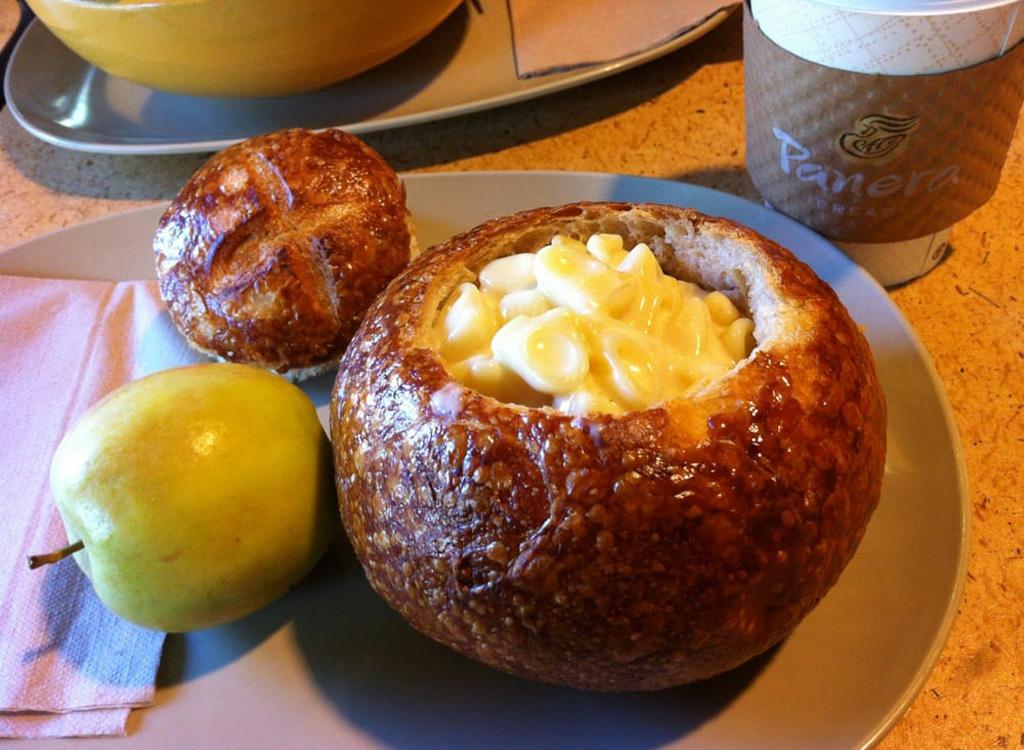 Panera mac and cheese bread bowl