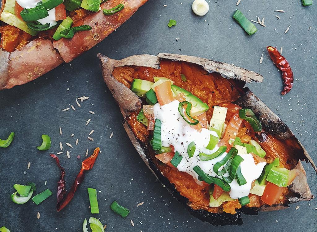 Sweet potato avocado mexican