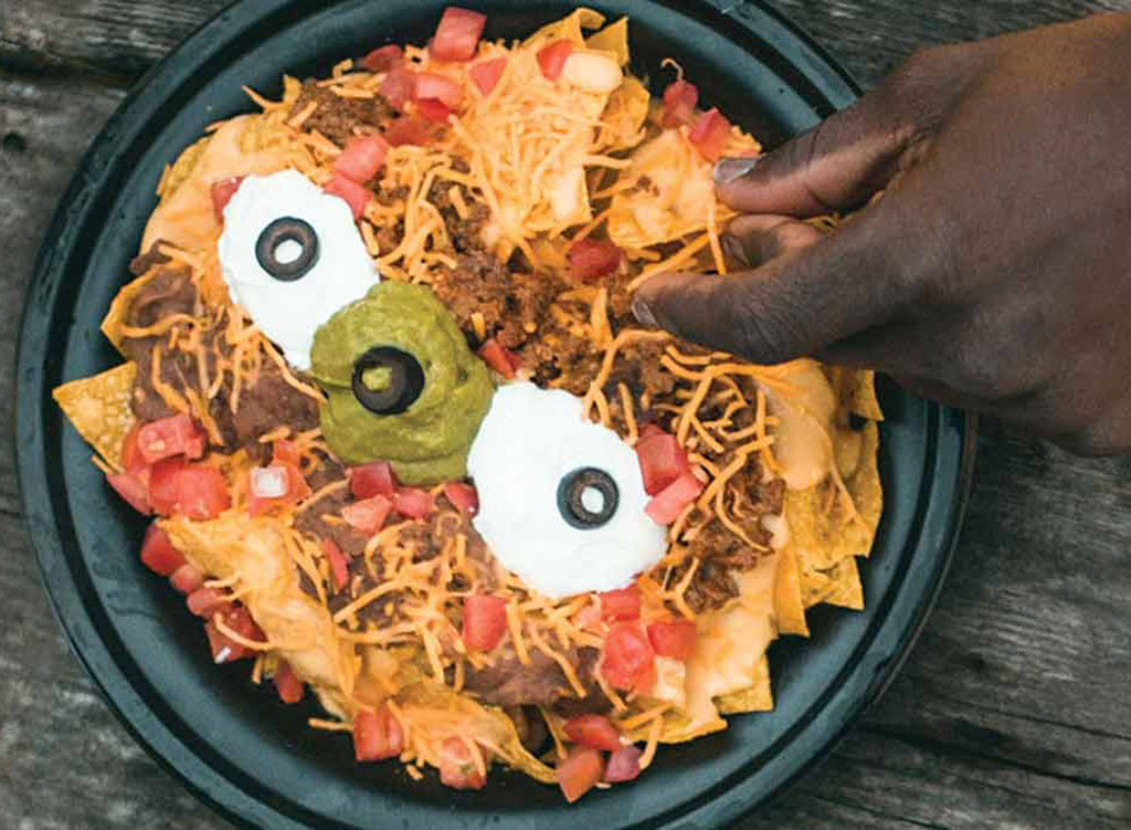 Taco johns super nachos