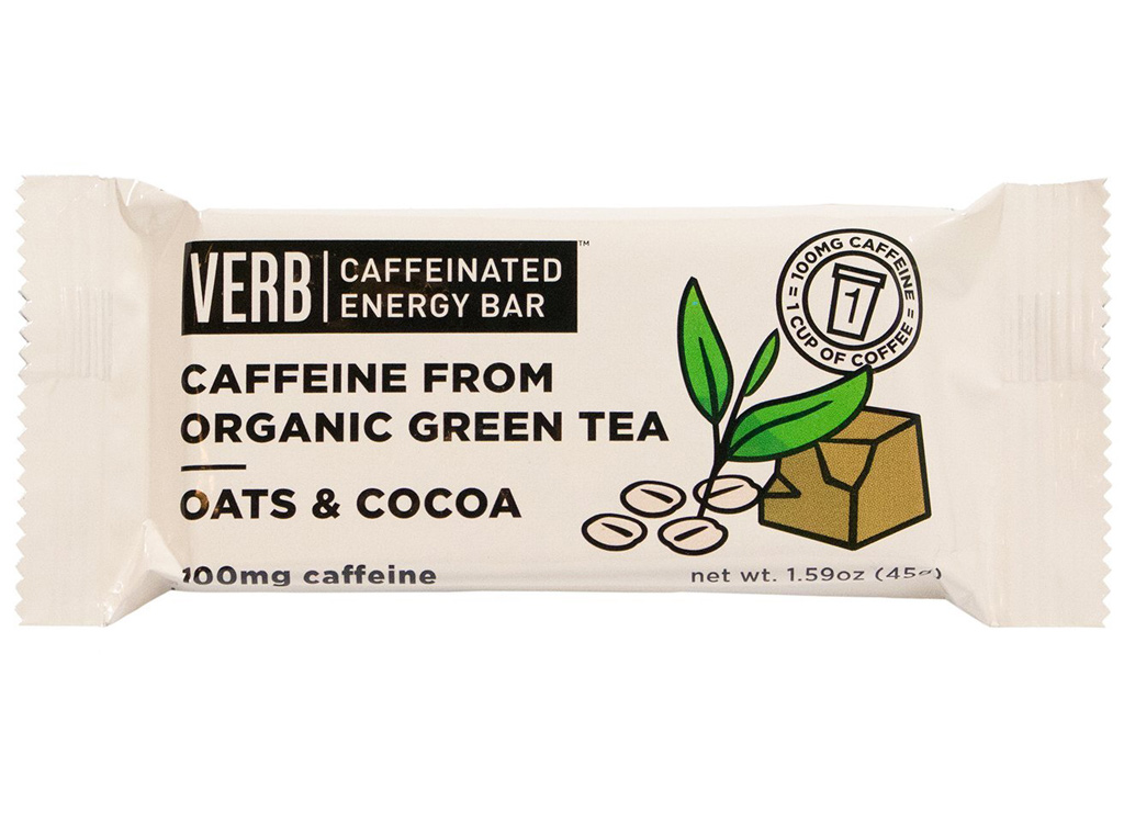 Verb oats and cocoa caffeinated bar