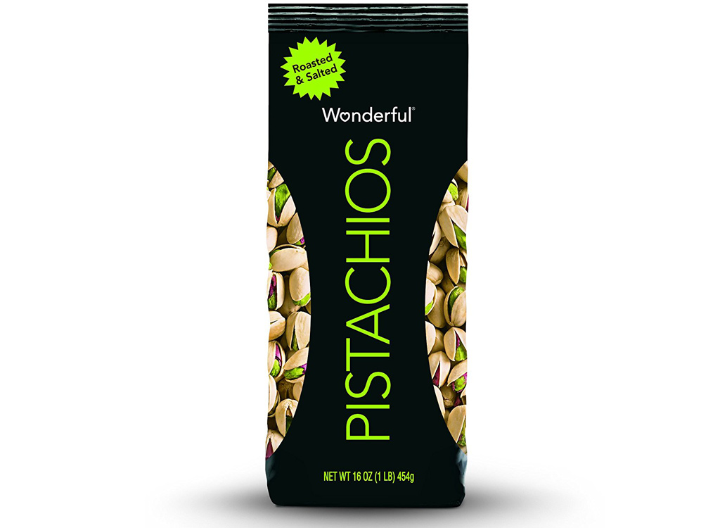 Wonderful roasted and salted pistachios