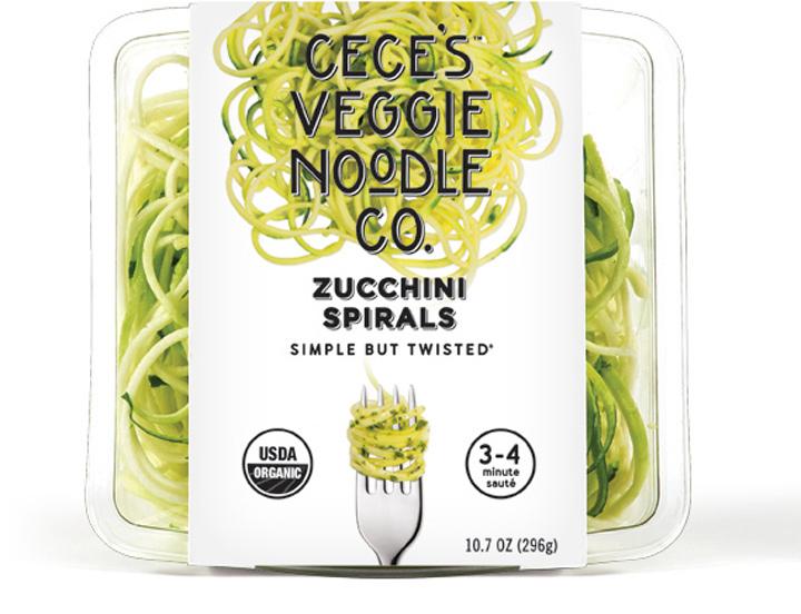 Ceces Veggie Noodle Co zucchini spirals
