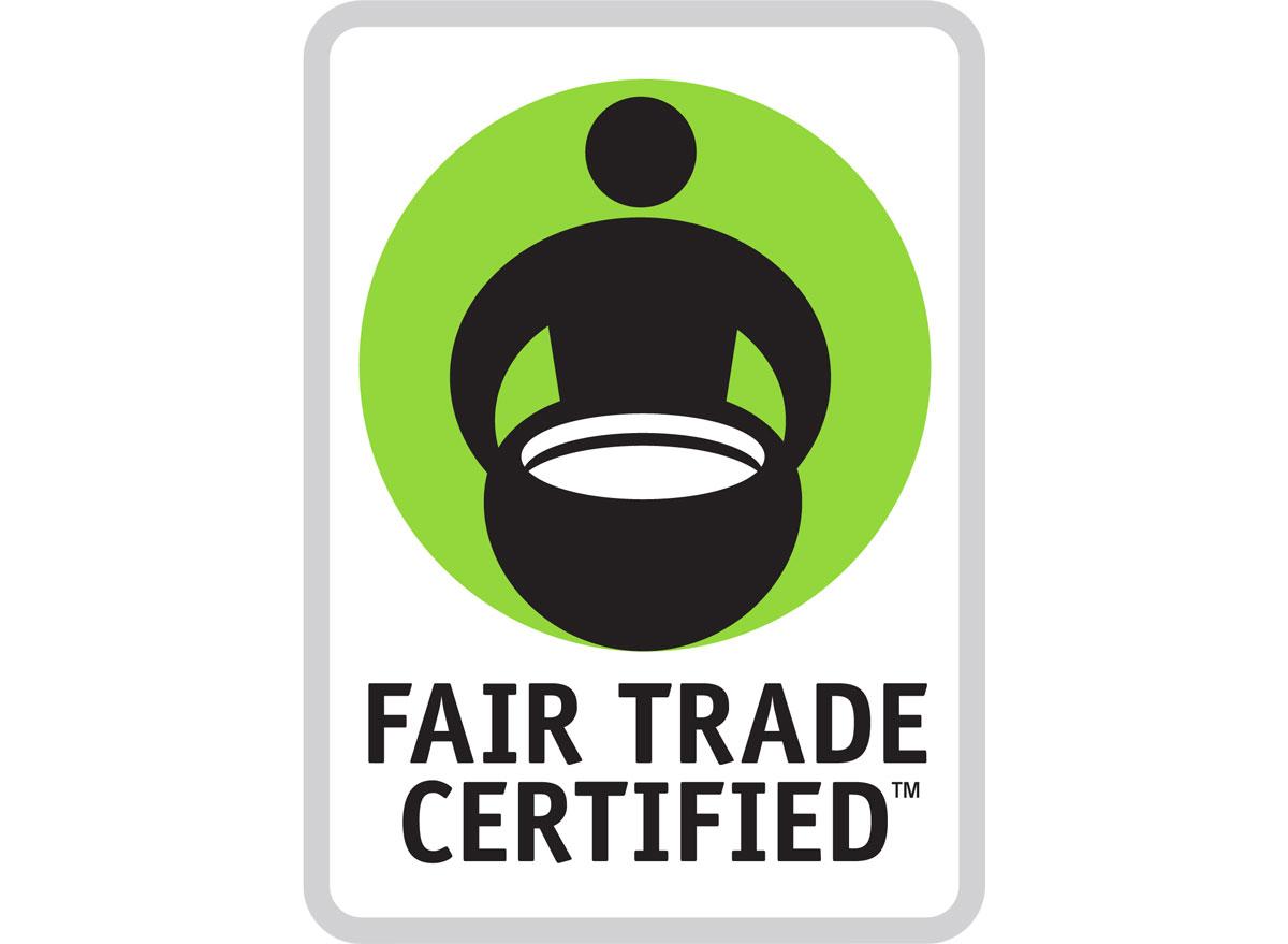 Fair trade certification seal