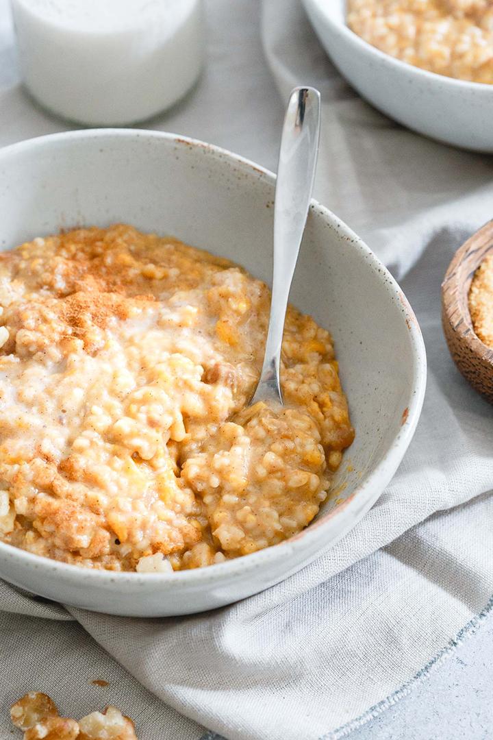 Sweet potato oats