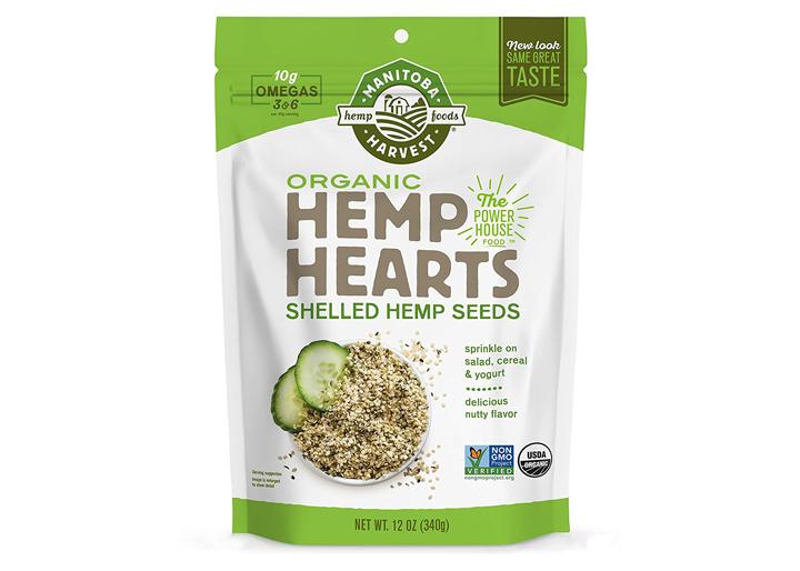 Manitoba organic hemp hearts
