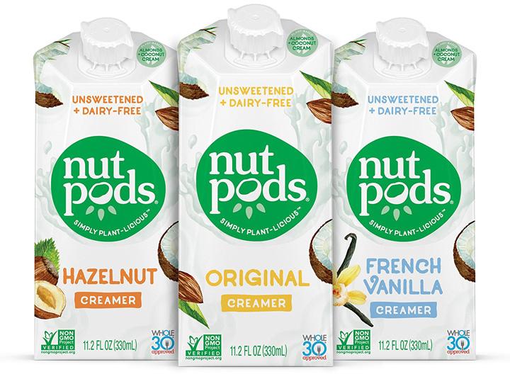 Nutpods dairy free creamer