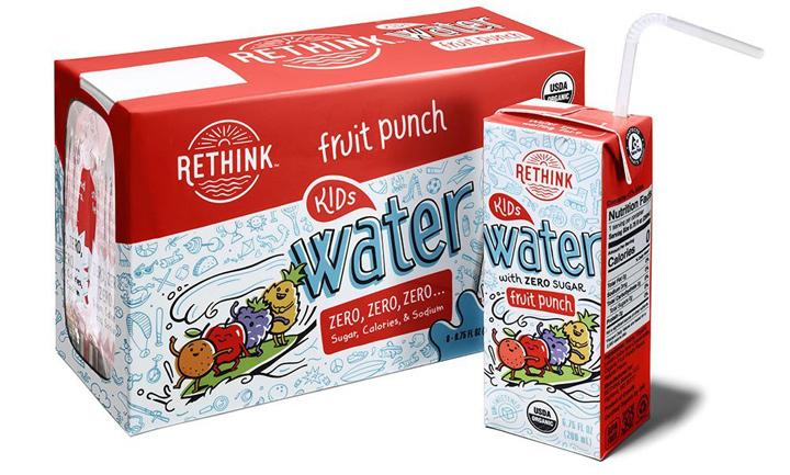 Rethink fruit punch water