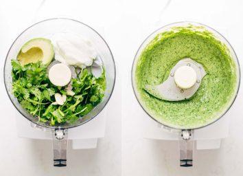 Salad dressing recipes: avocado cilantro dressing recipe