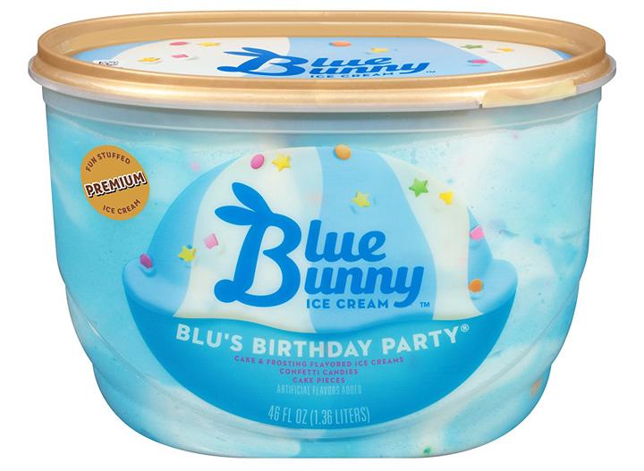 Blue Bunny blus birthday party