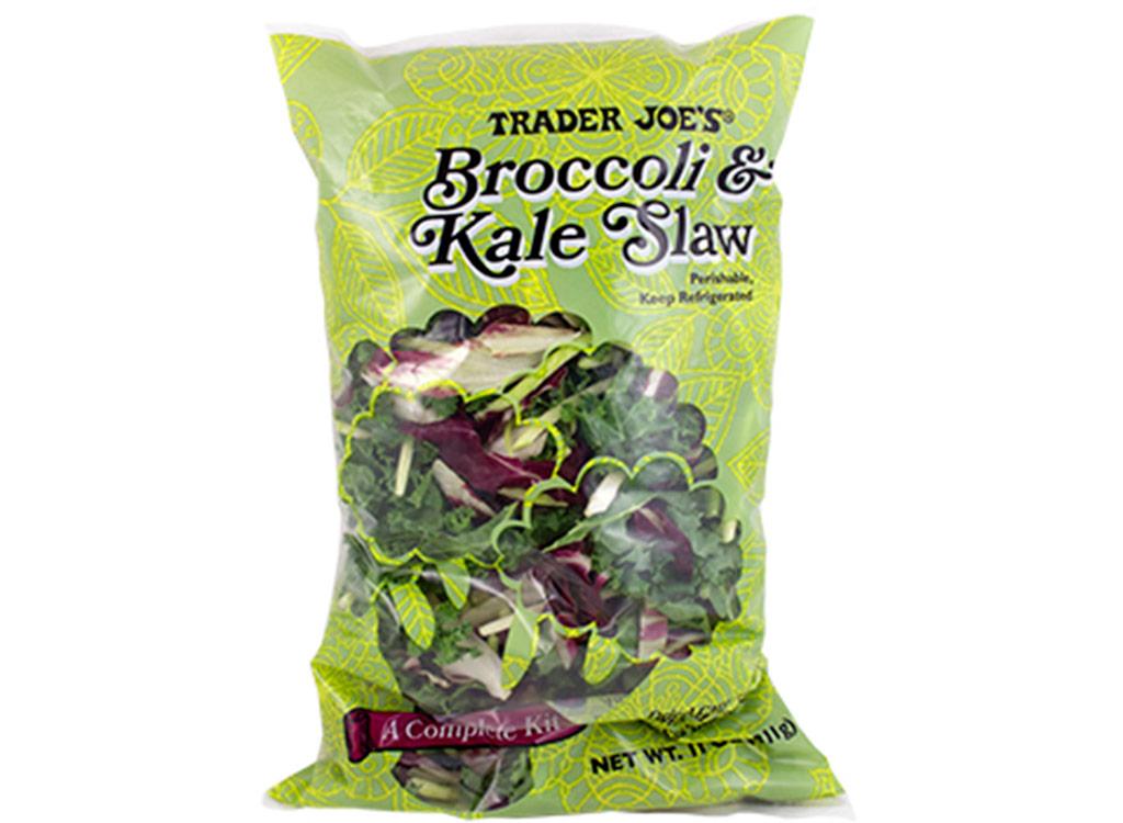 Trader joes Broccoli kale slaw kit