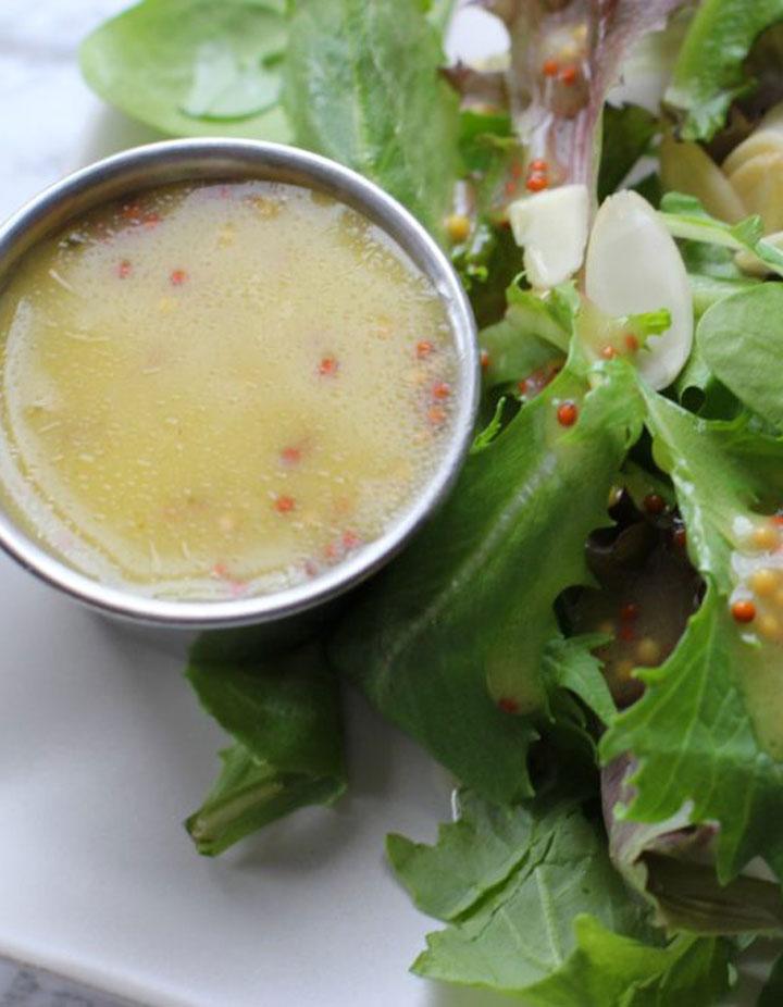 Healthier honey mustard dressing recipe