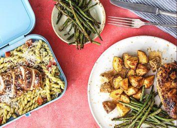 HelloFresh Dinner 2 Lunch chicken meal