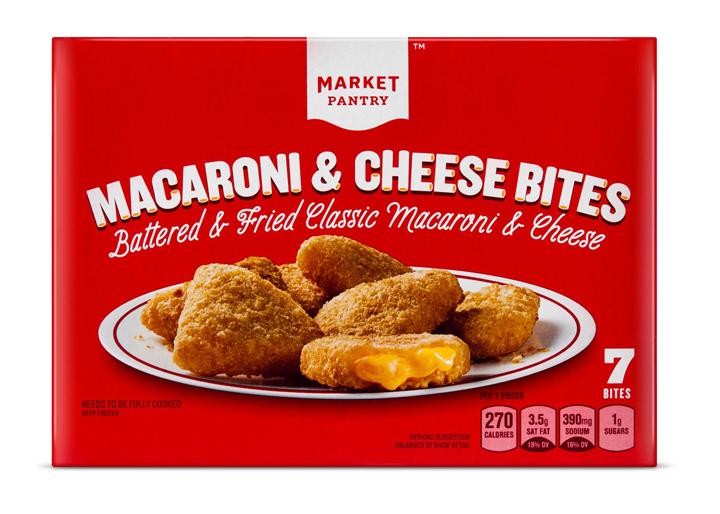 Market pantry mac and cheese bites