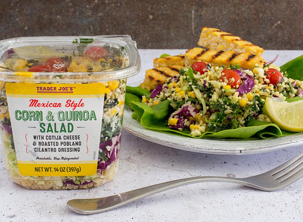 Trader joes Mexican quinoa corn salad