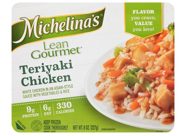 Michelinas teriyaki chicken