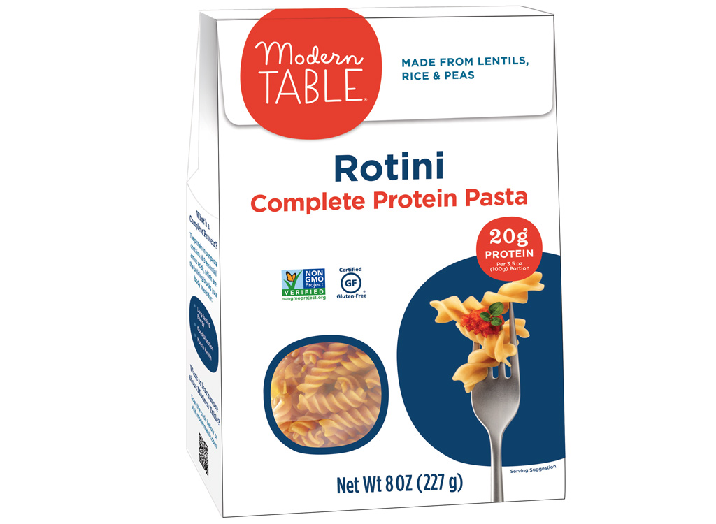 Modern Table rotini complete protein pasta