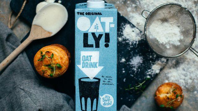 Oatly Original oat milk