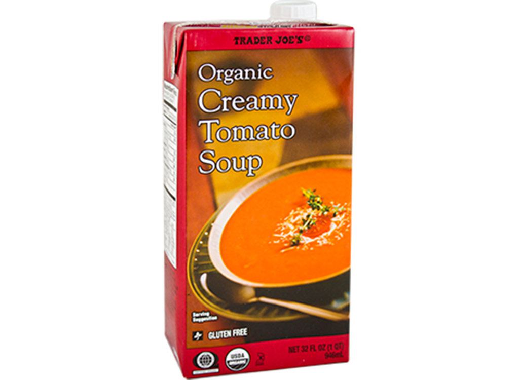 Trader joes Organic creamy tomato soup