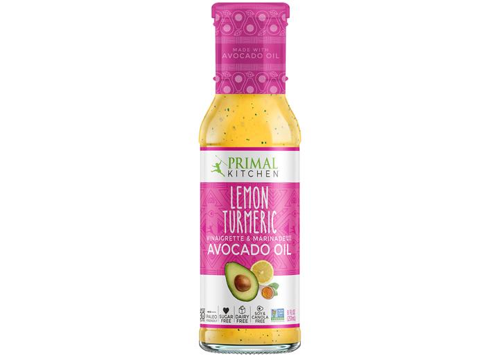 Primal Kitchen lemon turmeric salad dressing