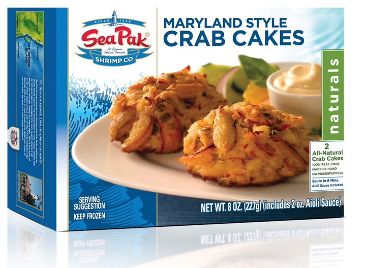SeaPak Maryland style crab cakes