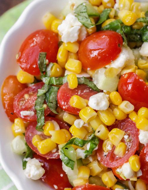 Frozen foods: summer corn salad