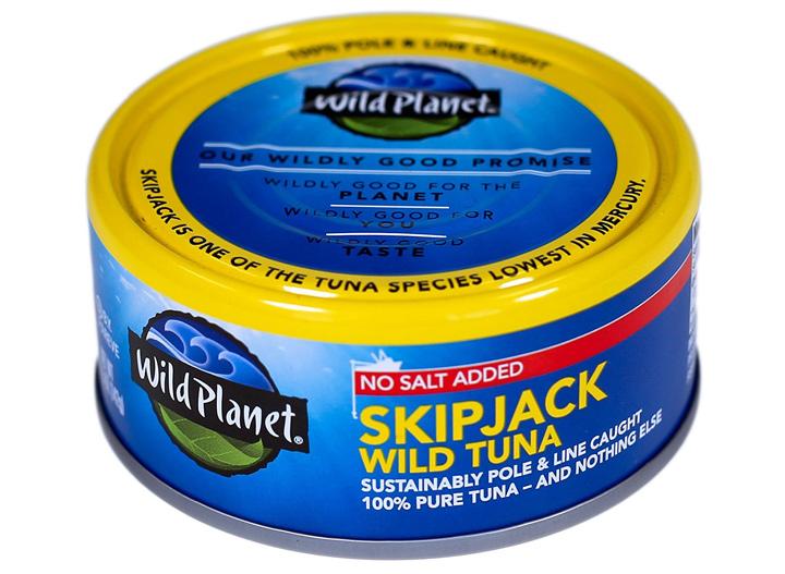 Wild Planet skipjack wild tuna no salt added