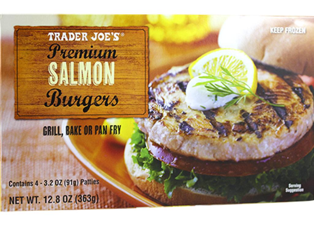 Trader joes Wild salmon burgers