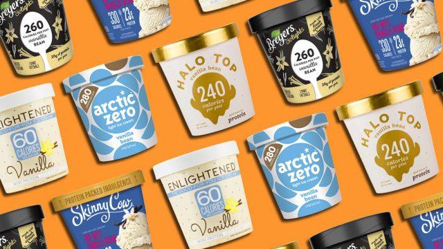 Best and worst healthy ice cream brands