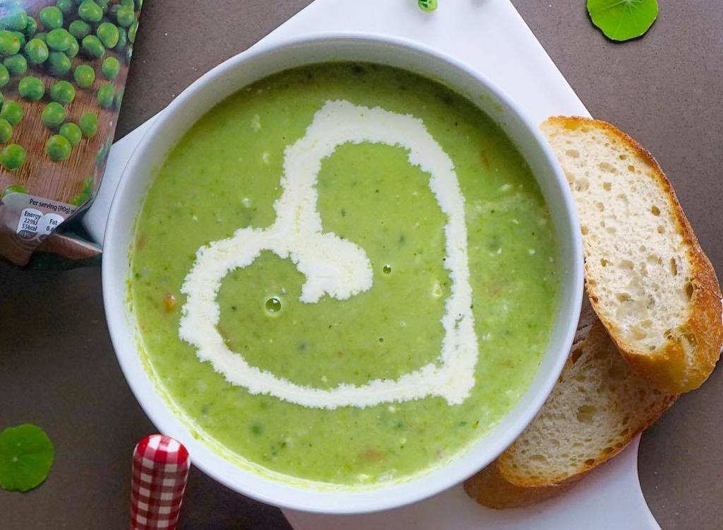 Birds Eye pea soup