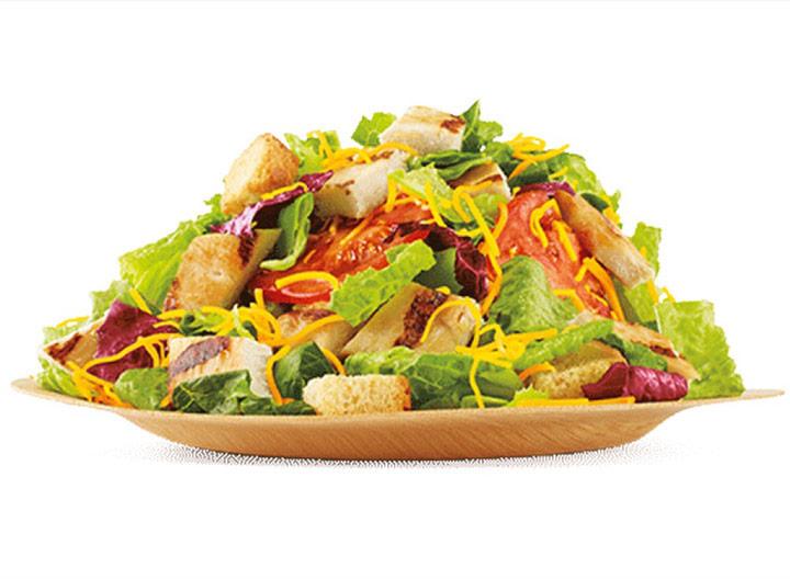 Burger king chicken garden salad