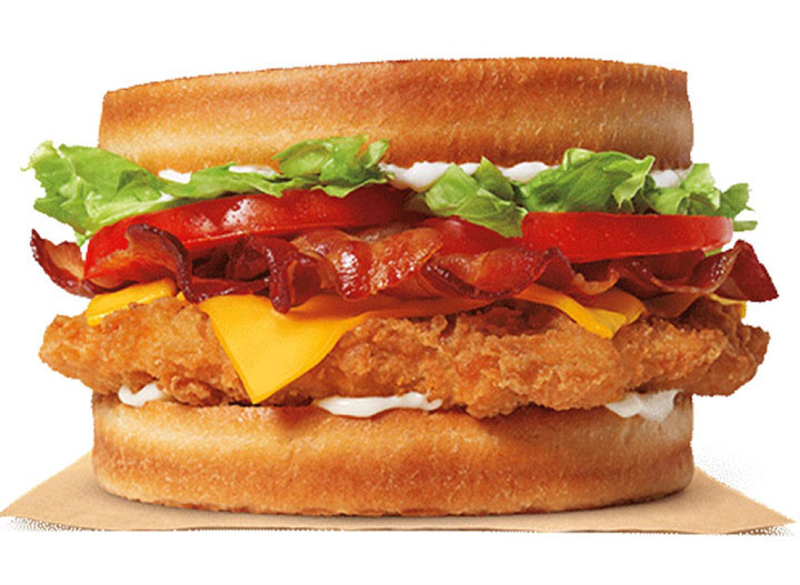 Burger king sourdough chicken club