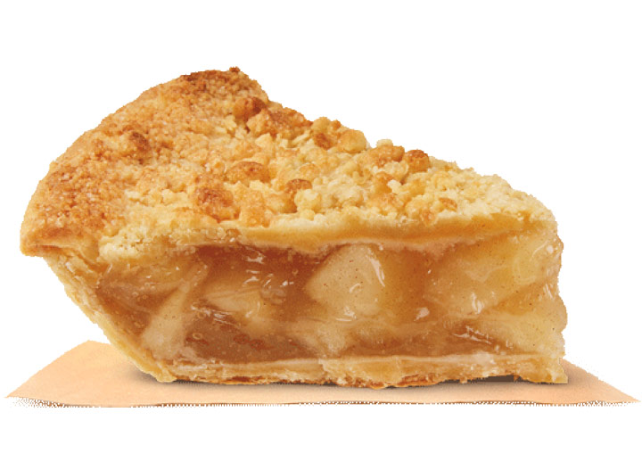 Burger king apple pie