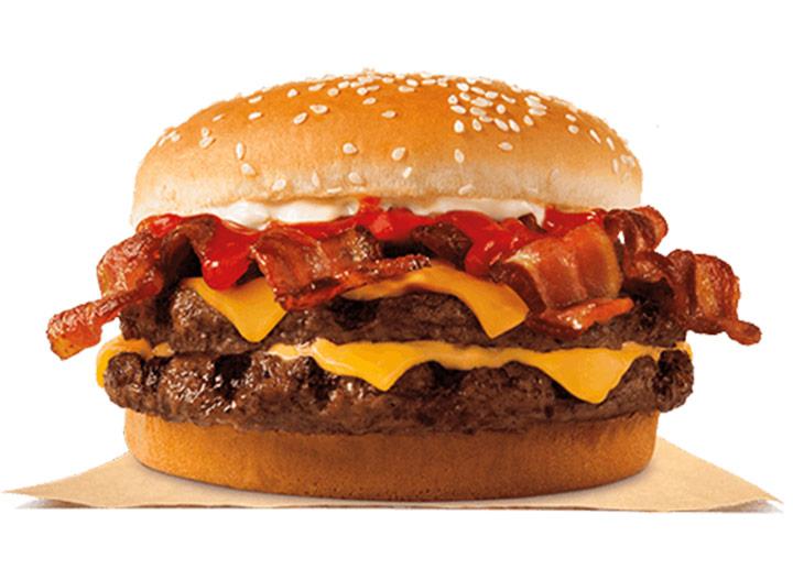 Burger king bacon king
