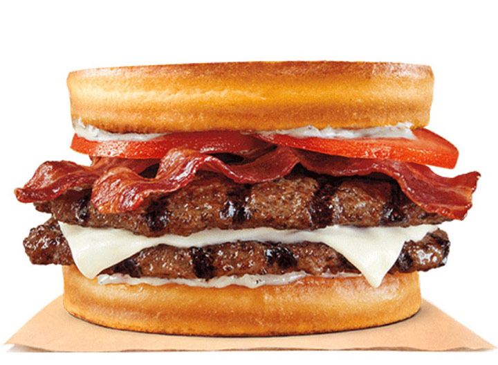 Burger king bacon swiss sourdough
